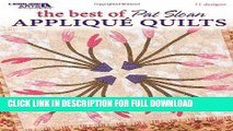 Ebook The Best of Pat Sloan Applique Quilts  (Leisure Arts #3799) Free Download
