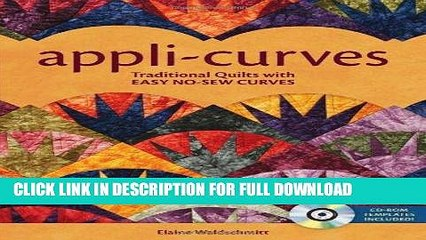 Best Seller Appli-Curves: Traditional Quilts With Easy No-Sew Curves Free Download