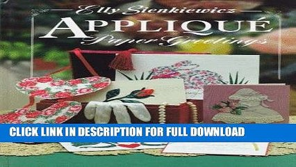 Best Seller Applique Paper Greetings Free Read