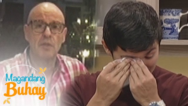 Magandang Buhay: Matteo gets emotional with his family's messages