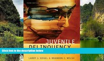Big Deals  Juvenile Delinquency: The Core  Full Read Most Wanted
