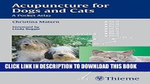 [READ] EBOOK Acupuncture for Dogs and Cats: A Pocket Atlas ONLINE COLLECTION