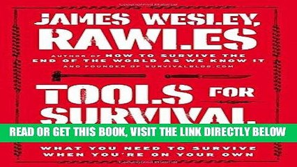 [FREE] EBOOK Tools for Survival: What You Need to Survive When You're on Your Own BEST COLLECTION