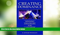 Big Deals  Creating Dominance: Winning Strategies for Law Firms  Best Seller Books Most Wanted
