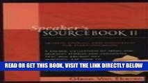 The Speakers Sourcebook:  Quotes, Stories and Anecdotes