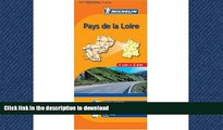READ BOOK  Michelin Map No. 517: Pays de Loire Region (France), Rennes, Angers, Nantes, le Mans