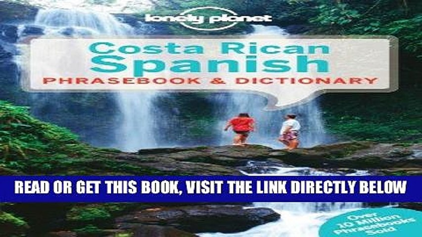 [FREE] EBOOK Lonely Planet Costa Rican Spanish Phrasebook Dictionary (Lonely Planet Phrasebooks)   Godialy.com