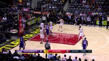 Dwight Howard Blocks Ty Lawson | Kings vs Hawks | October 31, 2016 | 2016-17 NBA Season