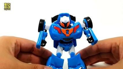 Tobot Transformation Robot Car Toys 또봇 삼총사 알파 베타 세타 미니 트렌스포머 범블비 장난감 자동차 변신 동영상