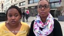 Les femmes de chambre de l'hôtel Radisson Blu sur le Vieux Port de Marseille en grève