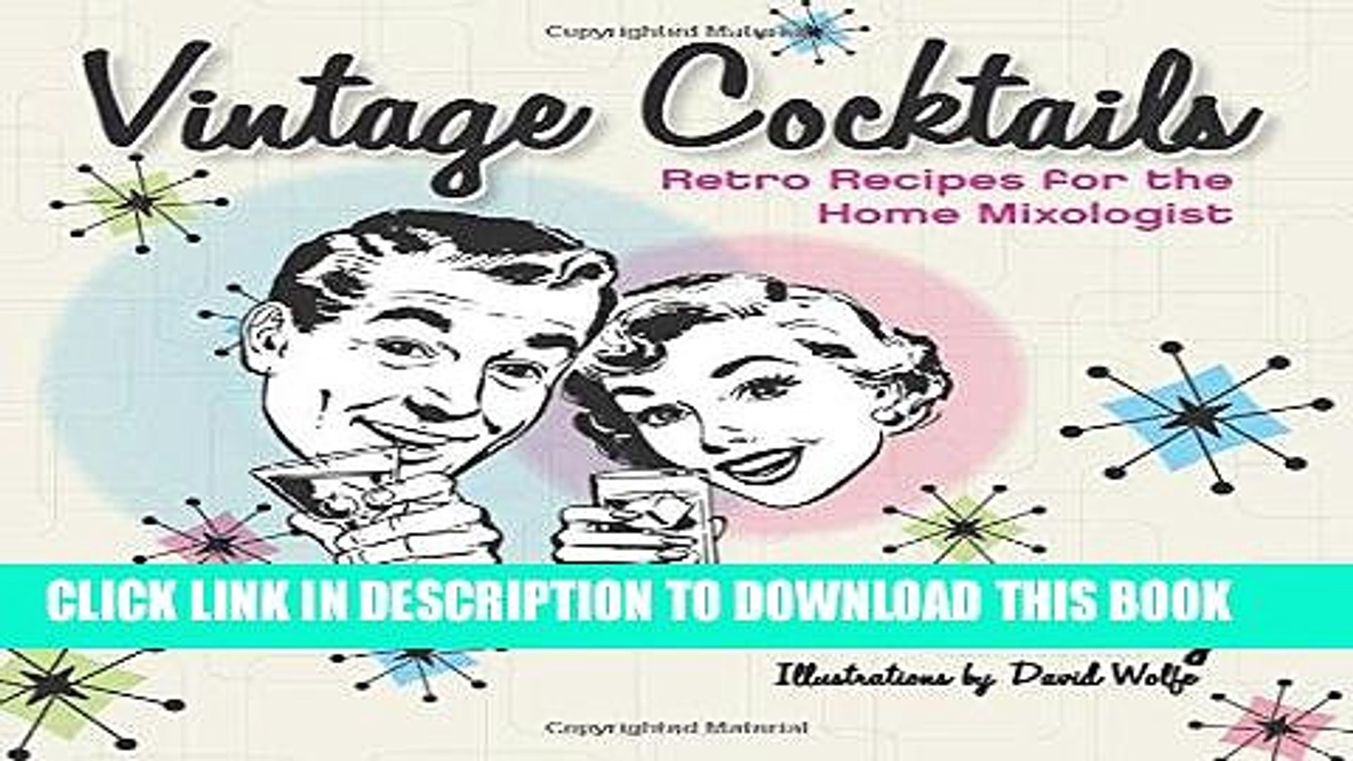 [PDF] Vintage Cocktails: Retro Recipes for the Home Mixologist [Online  Books]