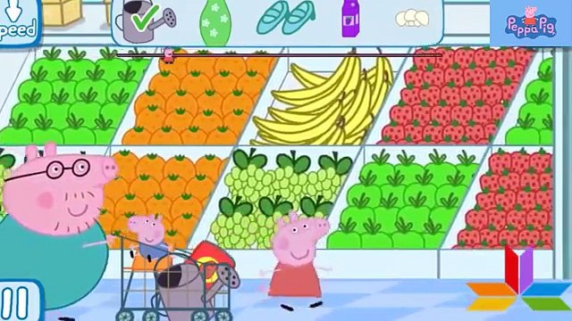 Peppa Pigs Shopping Full Gameplay app demo for kids