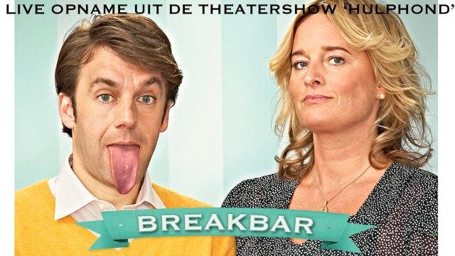Live uitvoering Breakbar door Remko Vrijdag en Martine Sandifort