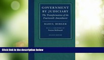 Big Deals  Government by Judiciary (Studies in Jurisprudence and Legal Hist)  Best Seller Books
