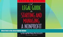 Big Deals  A Legal Guide to Starting and Managing a Nonprofit Organization, 2nd Edition  Best