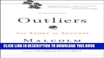 Best Seller Outliers: The Story of Success Free Read