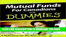 [New] Ebook Mutual Funds For Canadians for Dummies (For Dummies (Lifestyles Paperback)) Free Read