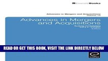 [Free Read] Advances in Mergers and Acquisitions (Advances in Mergers and Acquisitions) Free Online