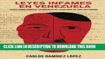 Ebook Leyes infames en Venezuela: Leyes habilitantes: apariencia de legalidad de una dictadura