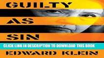 Ebook Guilty as Sin: Uncovering New Evidence of Corruption and How Hillary Clinton and the