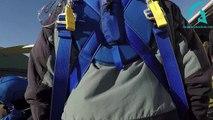 Saut Parachute tandem Amiens Glisy 40s chute libre 31/10/2016 Phil