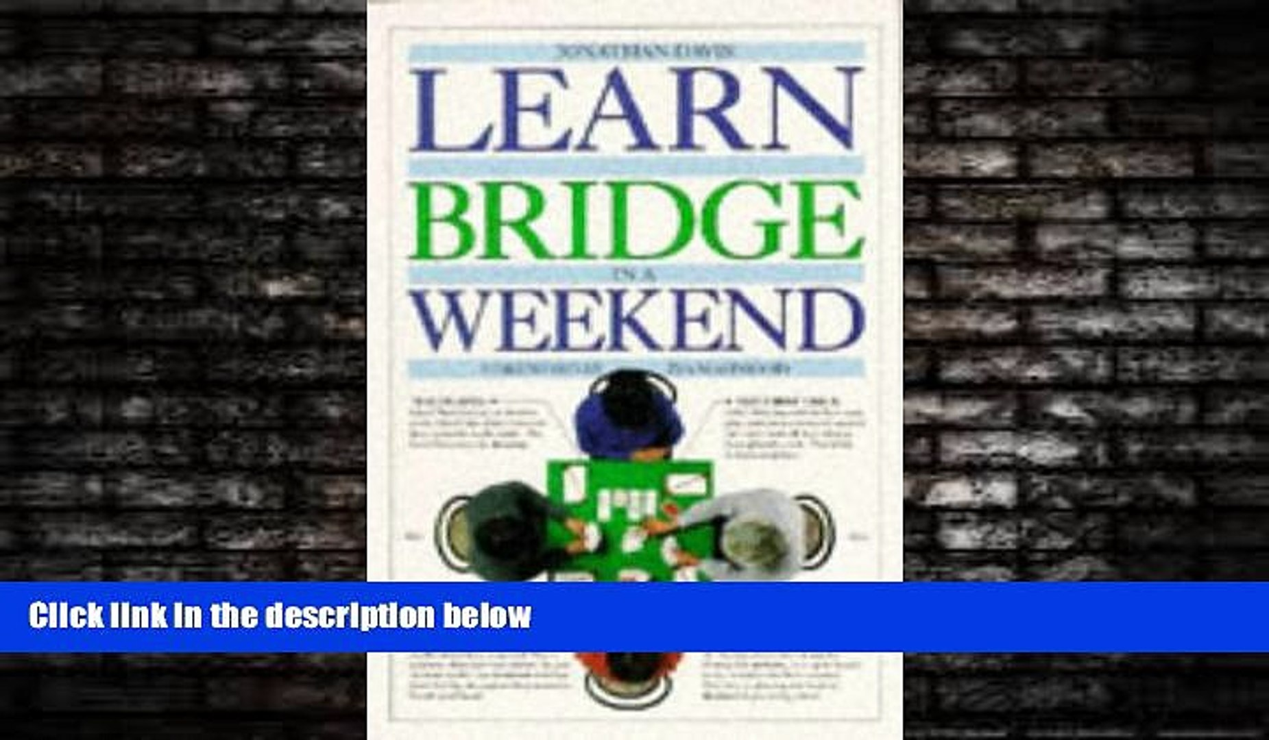 READ book  Learn to Play Bridge in a Weekend (Learn in a weekend)  FREE BOOOK ONLINE