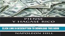 Best Seller Piense y Hagase Rico (Spanish Edition) Free Read