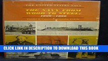 Read Now The Navy from Wood to Steel, 1860-1890 (The Watts Histories of the United States Navy)