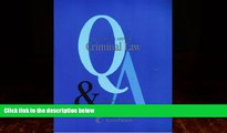 Books to Read  Questions   Answers: Criminal Law- Multiple Choice and Short Questions and Answers