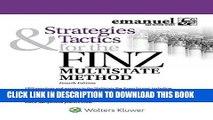 Best Seller Strategies   Tactics for the FINZ Multistate Method (Emmanuel Bar Review) (Emanuel Bar