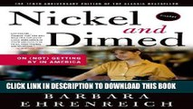 [PDF] Nickel and Dimed: On (Not) Getting By in America Download Free