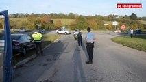 Châteaulin. RN165 : un automobiliste sous stupéfiants flashé à 181 km/h