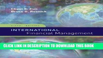[Ebook] International Financial Management (Irwin/McGraw-Hill Series in Finance, Insurance and