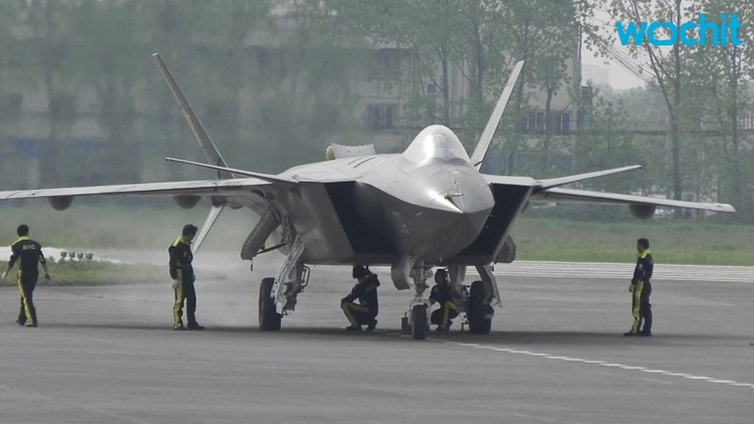 China Unveils Latest Stealth Fighter at Air Show | Godialy.com