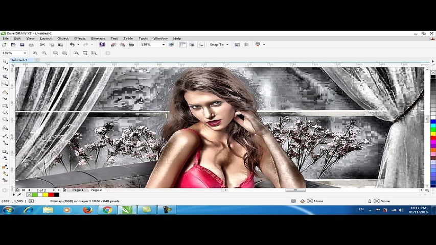 IMAGE EQUALIZER EFFECT IN CORELDRAW