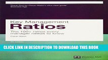 [DOWNLOAD] PDF Key Management Ratios (4th Edition) (Financial Times Series) New BEST SELLER