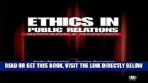 [Free Read] Ethics in Public Relations: Responsible Advocacy Free Online