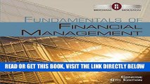 [Free Read] Bundle: Fundamentals of Financial Management, Concise Edition (with Thomson ONE -