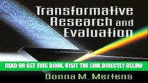 [READ] EBOOK Transformative Research and Evaluation ONLINE COLLECTION