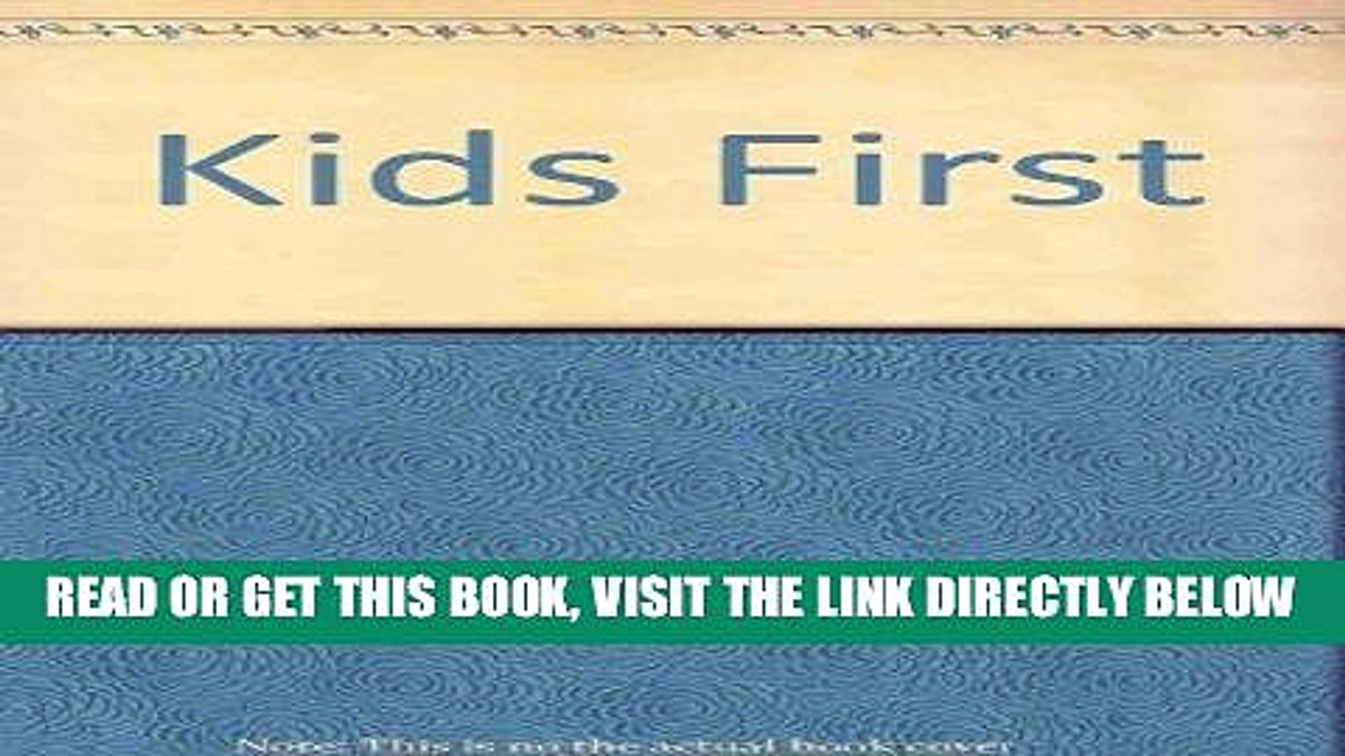 [Free Read] Kids First: Family Education Program Free Online