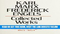 [Free Read] Karl Marx, Frederick Engels: Marx and Engels Collected Works 1853-54 Full Online