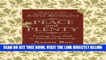 [Free Read] Peace and Plenty: Finding Your Path to Financial Serenity Full Online