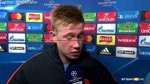 Manchester City vs Barcelona 3-1 Kevin De Bruyne & İlkay Gündoğan Post Match Interview