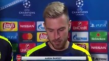 Arsenal vs Ludogorets 3 - 2 Olivier Giroud and Aaron Ramsey Post Match Interview