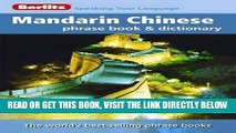[READ] EBOOK Berlitz Mandarin Chinese Phrase Book   Dictionary BEST COLLECTION