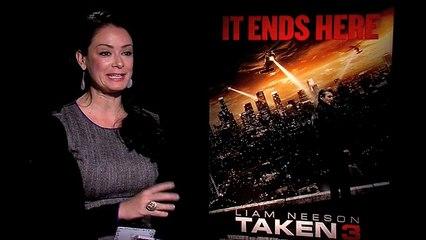 TAKEN 3- Interview with Maggie Grace and Famke Janssen
