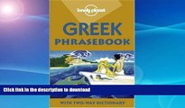 READ  Lonely Planet Greek Phrasebook: With Two-Way Dictionary (Phrasebooks) (Greek Edition) FULL
