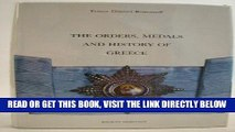 [READ] EBOOK The Orders, Medals and History of Greece BEST COLLECTION