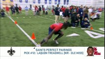NFC South NFL Draft Perfect Pairs Picks   Move the Sticks   NFL