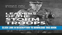 Ebook Leaders of the Storm Troops. Volume 1: Oberster SA-Führer, SA-Stabschef and